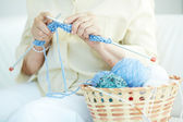 Knitting clothes — Stock Photo