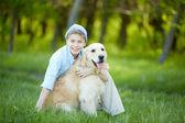 Love to dog — Stock Photo