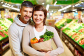Healthy couple — Stock Photo