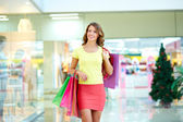 Pleasure of shopping — Stock Photo