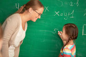 Solving equation — Stock Photo