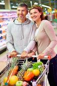 Happy consumers — Stock Photo