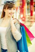 Joyful consumer — Stock Photo