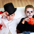 Halloween evening — Stock Photo
