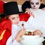 Halloween sweets — Stock Photo