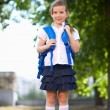 Stock Photo: schoolchild