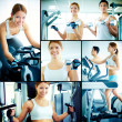 Training in health club — Stock Photo #29873787