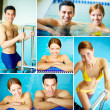 Couple in water — Stock Photo #29873793