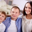 Family of three — Stock Photo