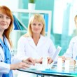 Successful clinicians — Stock Photo
