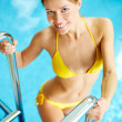 Girl in swimming pool — Stock Photo #29875639