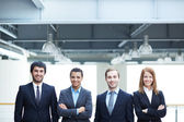 Multi-ethnic business team — Stock Photo