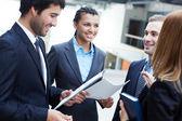 Business communication — Stock Photo