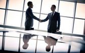 Making agreement — Foto Stock