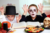 Halloween sorcery — Stock Photo
