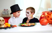 Halloween boys — Stock Photo