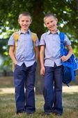 Schoolboys — Stock Photo