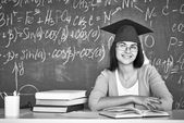 Student at college — Stock Photo
