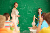 Learning mathematics — Stock Photo