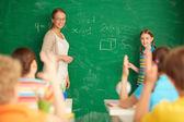 Learning mathematics — Stock Photo