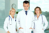 Pessimistic doctors — Stock Photo