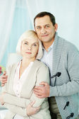 Mature man and woman — Stock Photo