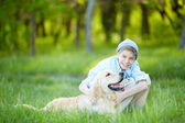 Amor de cão — Fotografia Stock