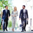 Business on the move — Stock Photo