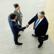 Business agreement — Stock Photo
