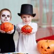 Stock Photo: Showing pumpkins