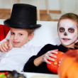 Stock Photo: Halloween relax