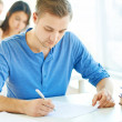 Stock Photo: Written exam
