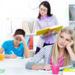 Bored student — Stock Photo