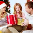 Stock Photo: Gifts for daughter