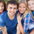Restful family — Stock Photo