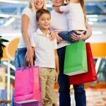 Enjoying shopping — Stock Photo
