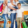 Family in mall — Stock Photo #31206939