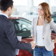 Car buyer — Stock Photo