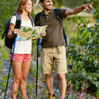 Hikers traveling — Stock Photo #31209085