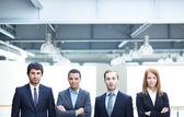 Smart business partners — Stock Photo