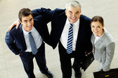 Succesful managers — Stock Photo