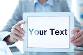 Your text — Stock Photo