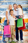 Godendo dello shopping — Foto Stock