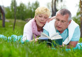 Leisure in the country — Stock Photo