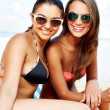 Summer girls — Stock Photo