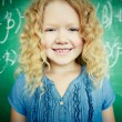 Happy pupil — Stock Photo