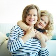 Affectionate females — Stock Photo