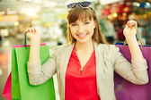 Shopping pleasure — Stock Photo