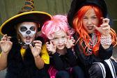 Halloween jongens — Foto de Stock