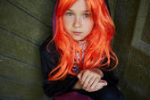 Halloween child — Stock Photo
